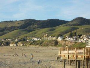 Hills over Pismo Beach